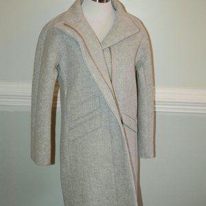 J.Crew $350 Cocoon Coat Stadium-Cloth Wool G8447